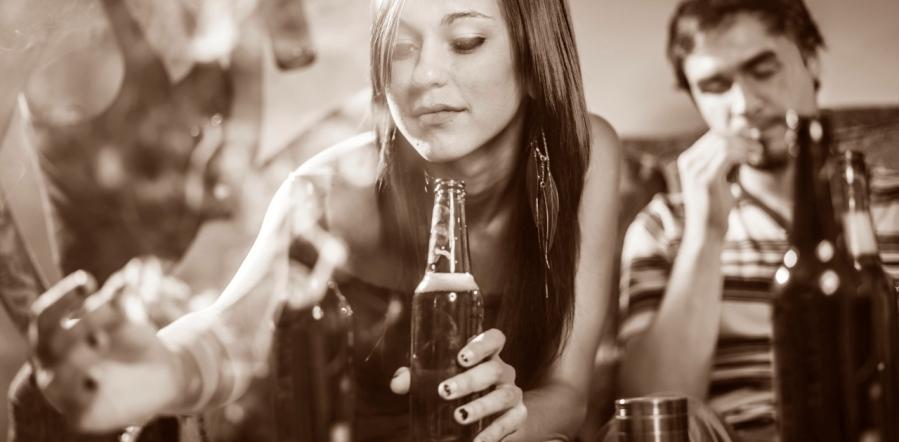 Молодежный алкоголизм