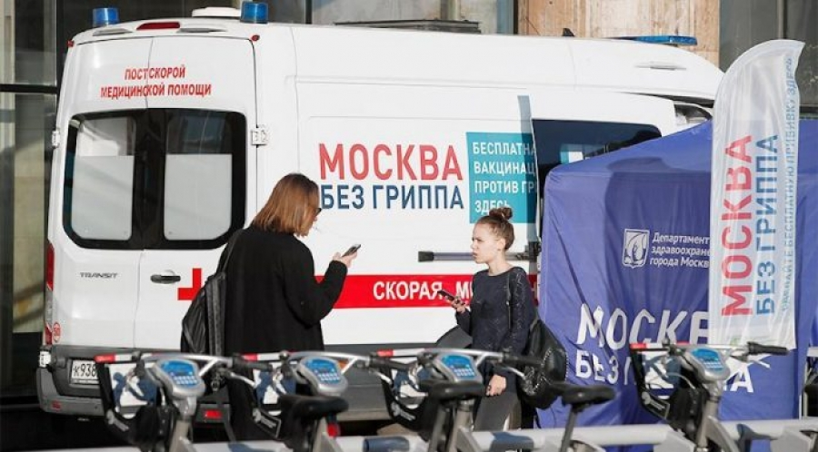 Жители России стали реже болеть гриппом